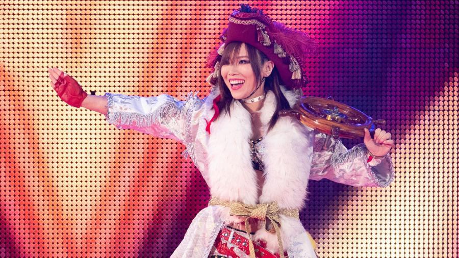 Kairi Sane of WWE. Kairi Sane's First Online Talk Show in Japan Was Incredible