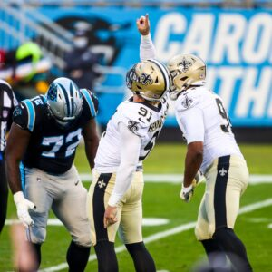 Panthers Manhandled 33-7 By Saints to End Forgettable Season