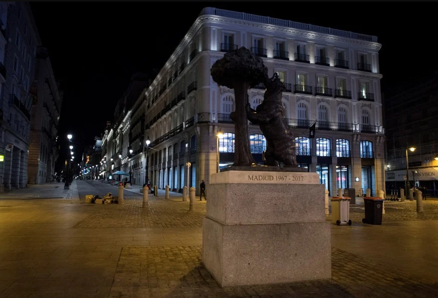 spain emergency curfew for covid-19 by wittyculture
