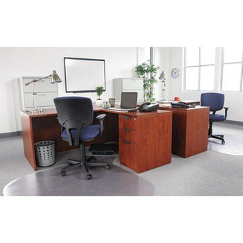 "Alera Valencia Series ""L-Desk"" Configuration"