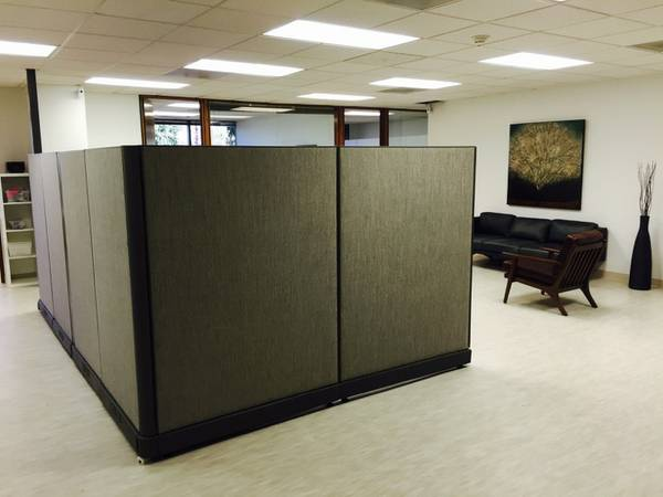 Used Herman Miller AO2 Cubicle