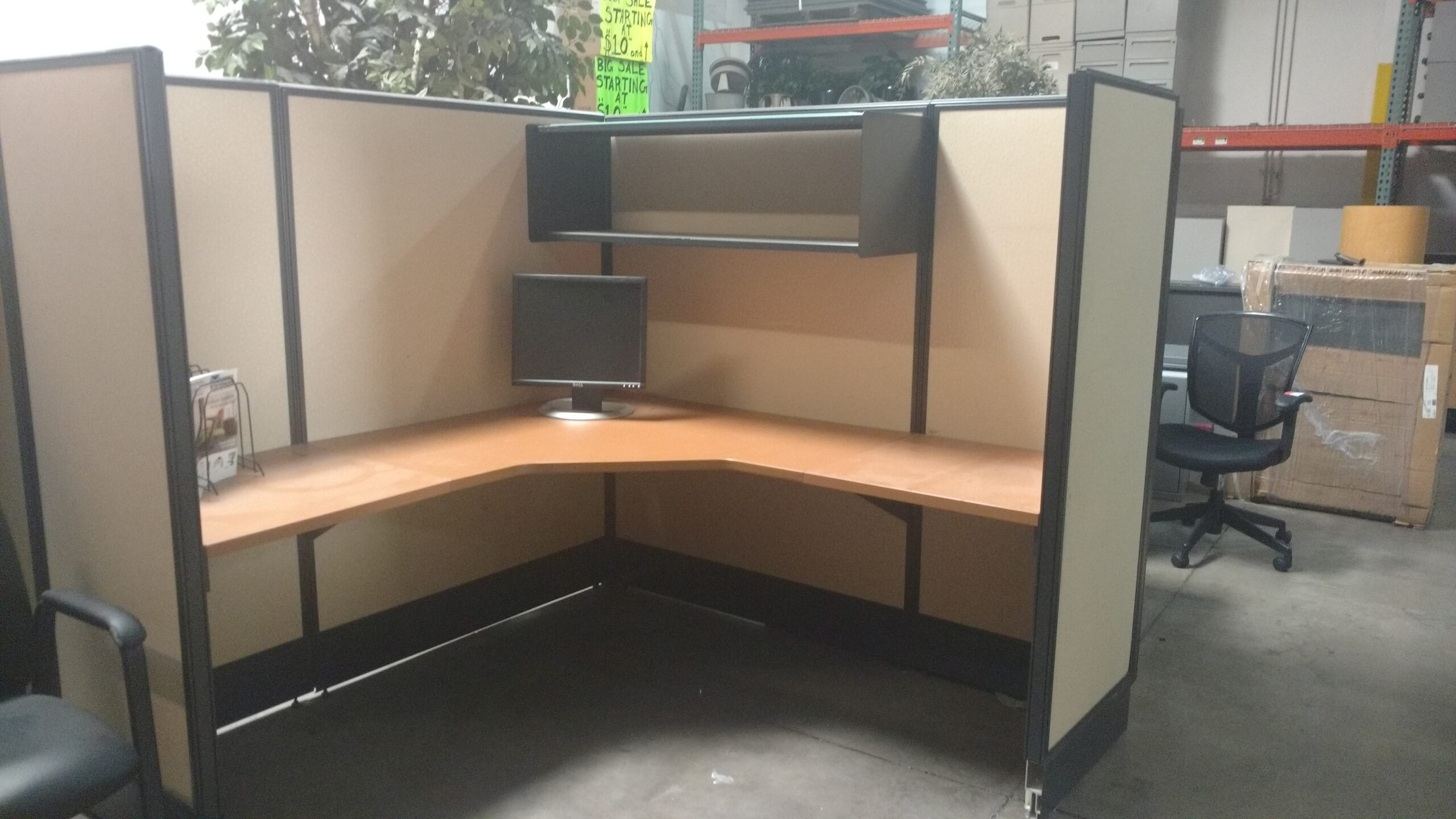 Used Herman Miller AO2 Custom Refurshed Cubicle