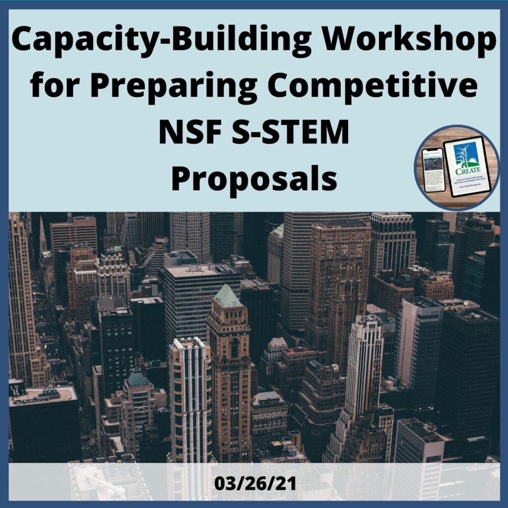 Capacity Building Workshop for Preparing Competitive NSF-STEM Proposals