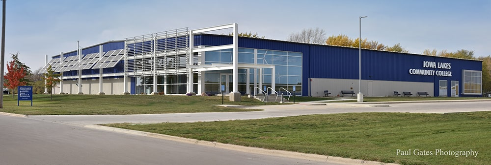 Iowa Lakes Community College Wind Energy Building