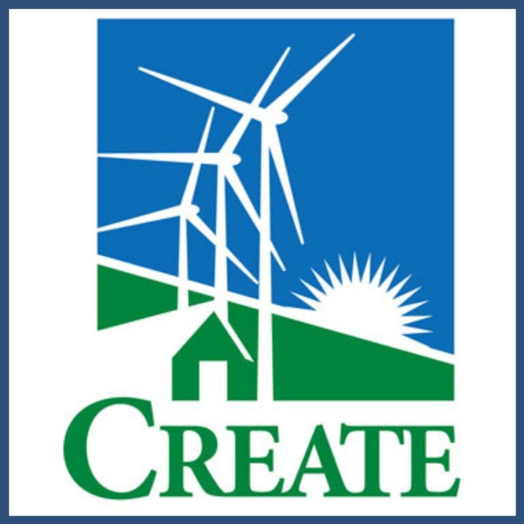 CREATE, Center for Renewable Energy Education logo