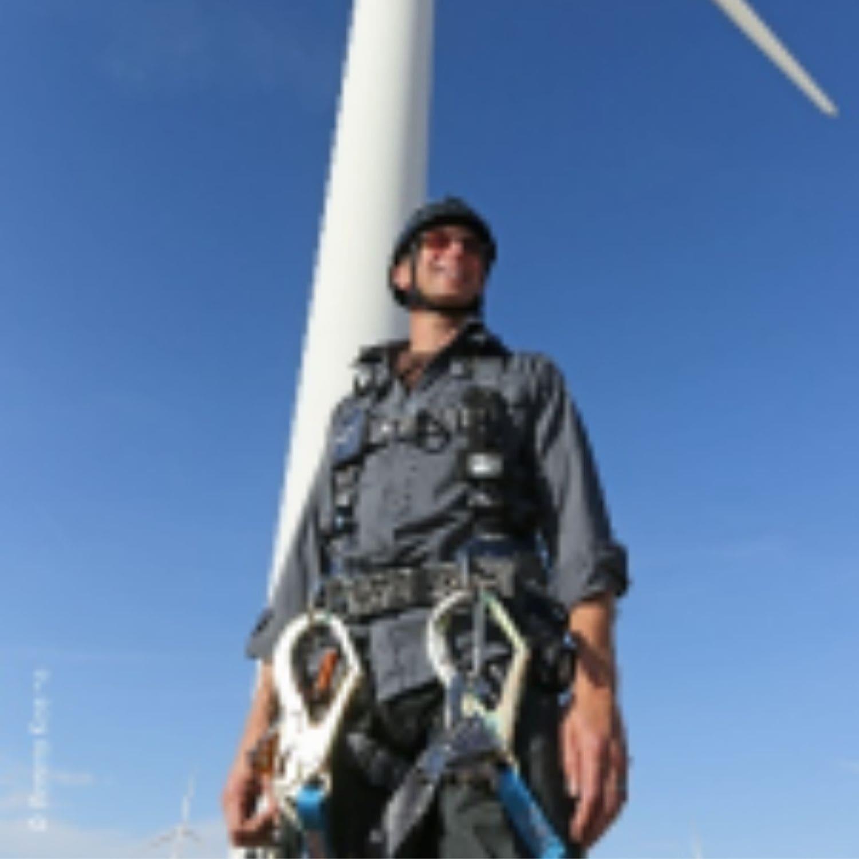 Jim Pytel, Columbia Gorge Community College Wind Energy program faculty member
