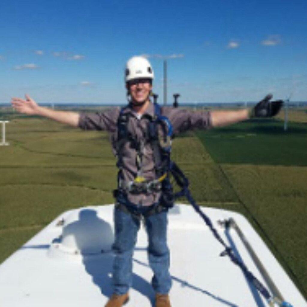 Dustin Fox, Heartland Community College Renewable Energy Program Alumni