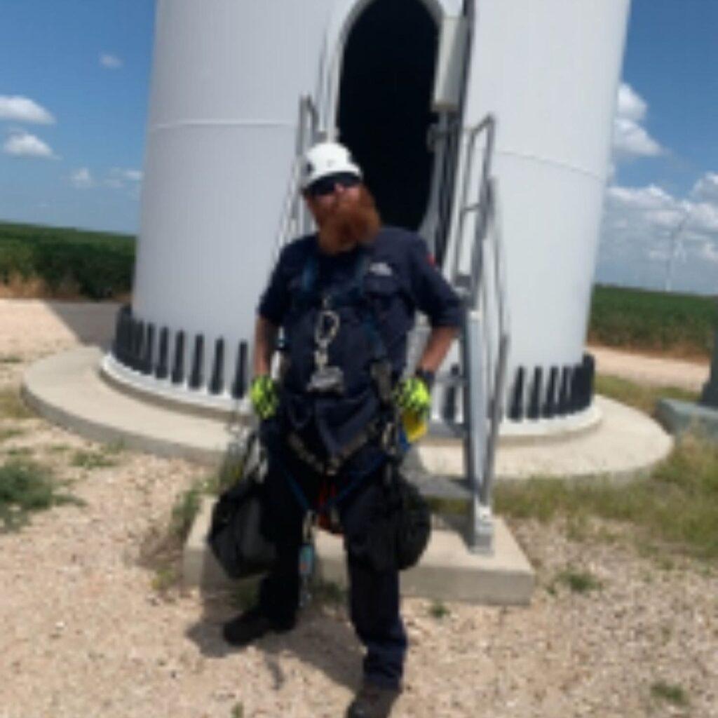Jamie Gooch, Laramie Community College Wind Energy program alumni
