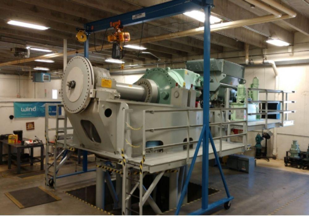 Mitsubishi 1 MW Wind Turbine Generator Trainer