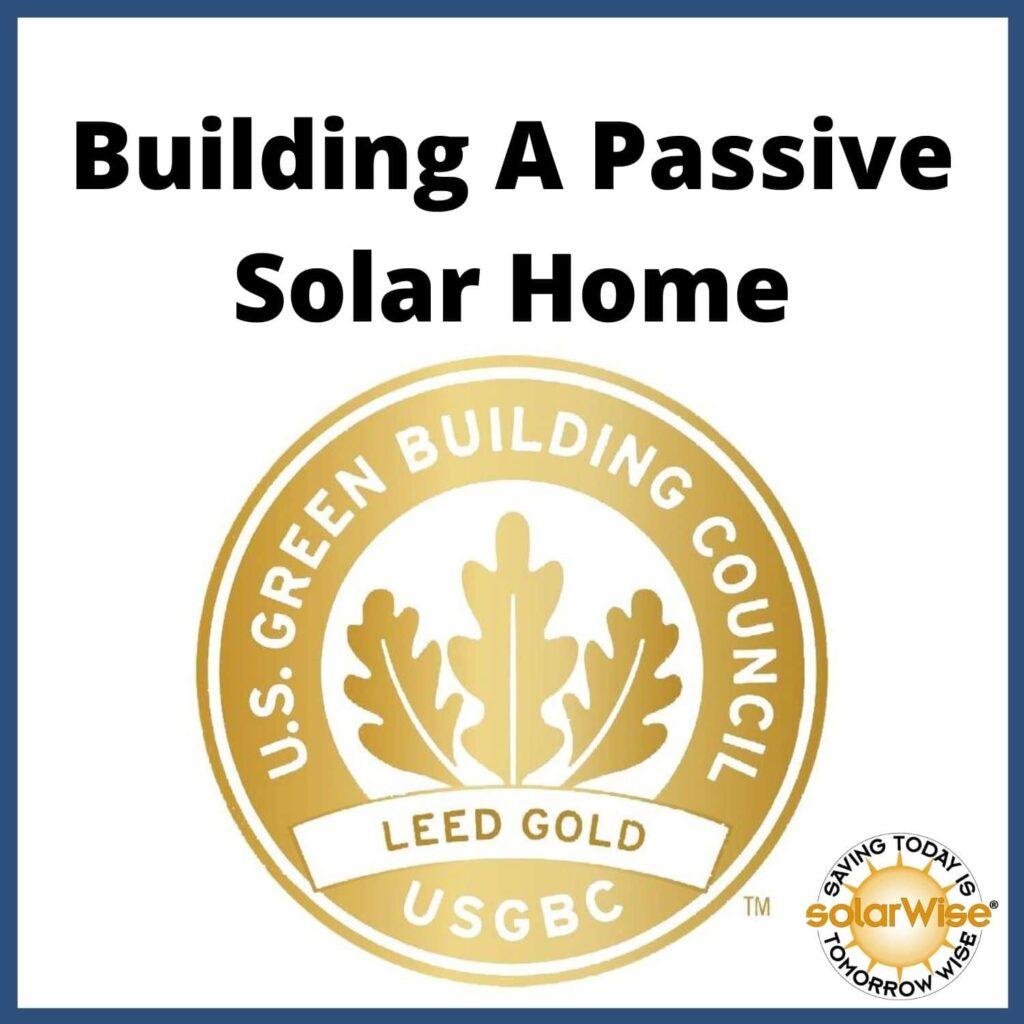 Renewable Energy Lesson Plan - Building a Passive Solar Home - SolarWise