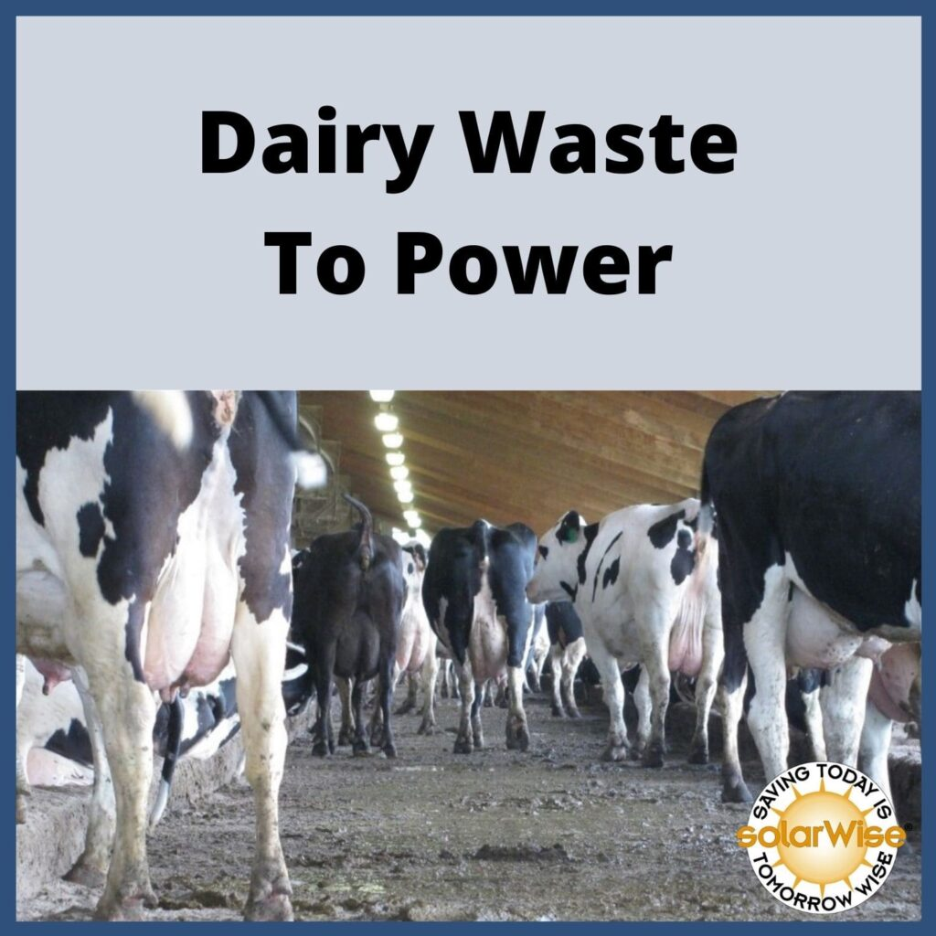 Renewable Energy Lesson Plan - Dairy Waste to Power - SolarWise