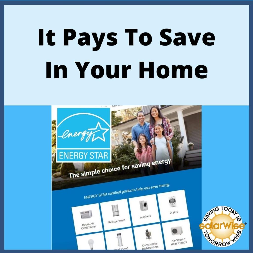Renewable Energy Lesson Plan - Renewable Energy Lesson Plan - It Pays to Save in Your Home - SolarWise