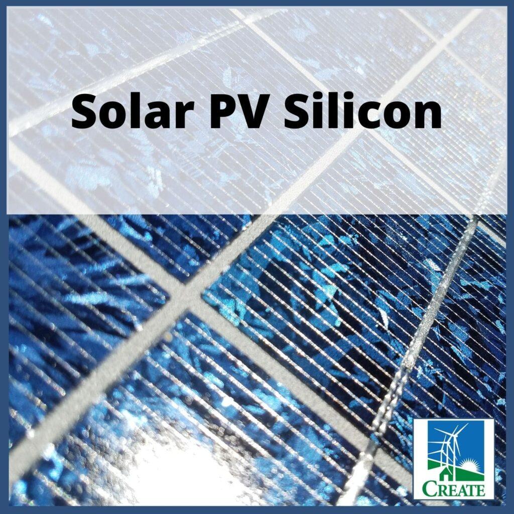 Renewable Energy Lesson Plan - Solar PV Silicon - CREATE