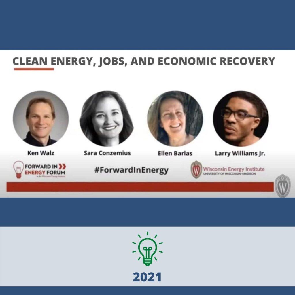 Clean Energy, Jobs & Economic Recovery - 2021