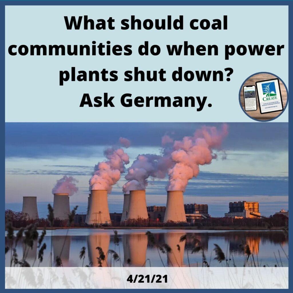 What should coal communities do when power plants shut down? Ask Germany.