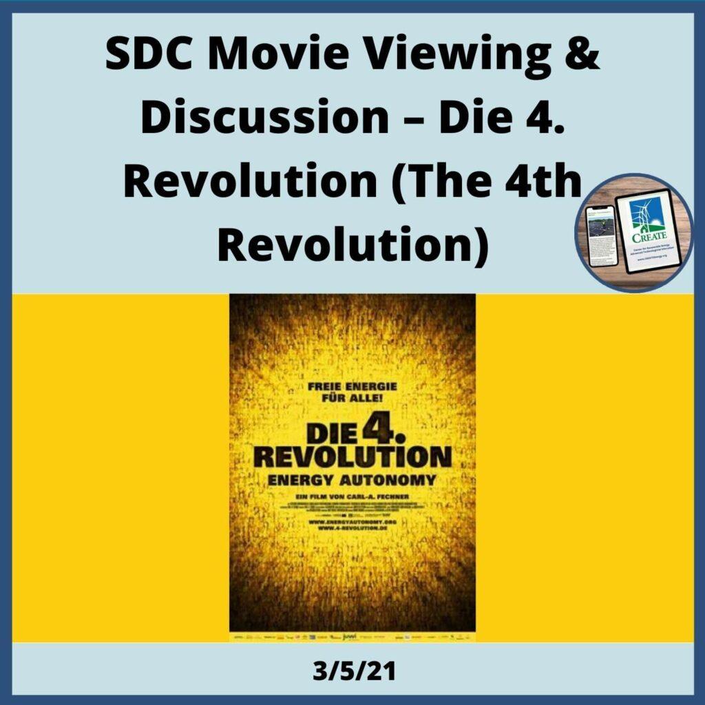 SDC Movie View & Discussion - Die 4. Revolution