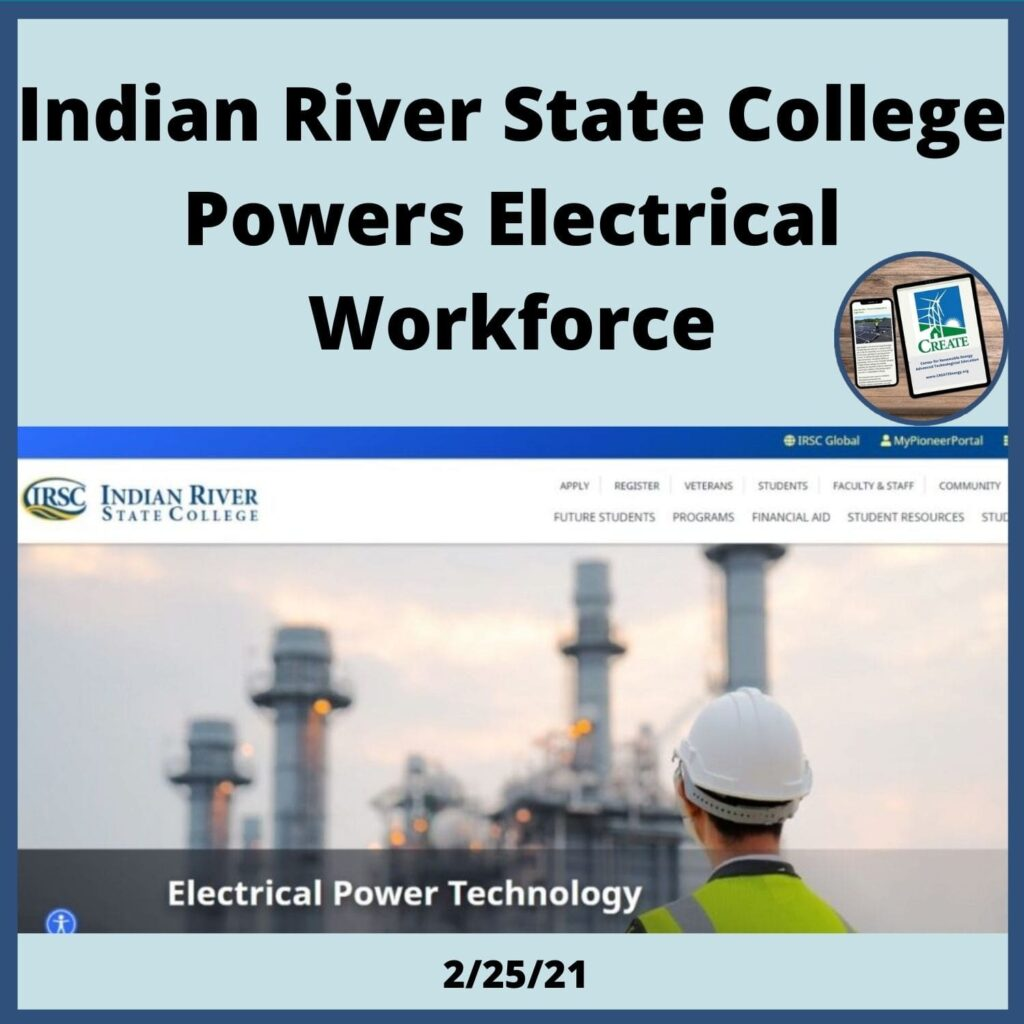 Indian River State College Powers Electrical Workforce