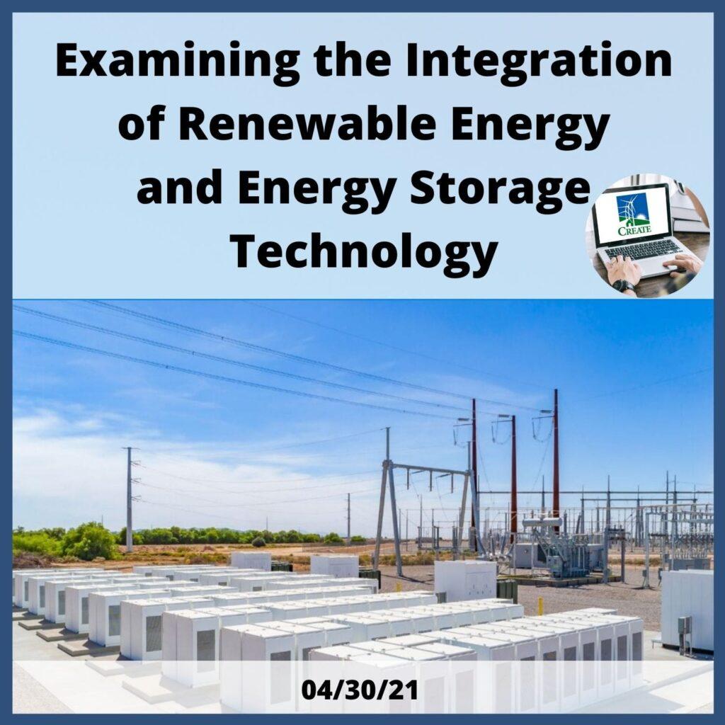 Examining the Integration of Renewable Energy Storage Technology