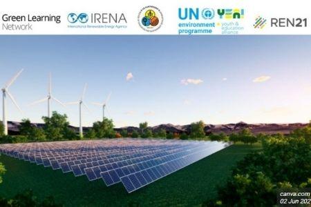 UN Environment Programme Solar Panels and Wind Turbines