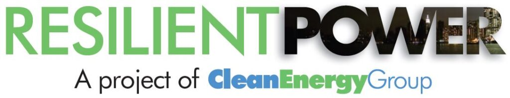 Resilient Power - A project of the CleanEnergyGroup