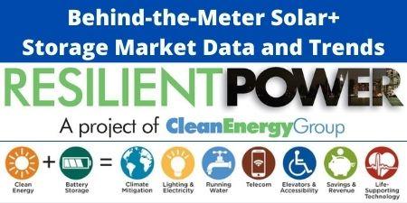 Behind-the-Meter Solar+Storage Market Data and Trends Webinar