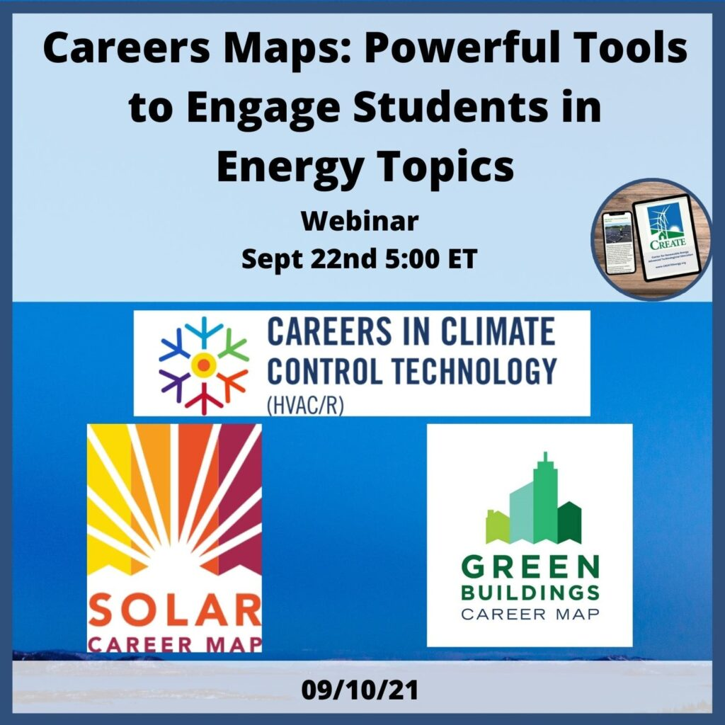 Career Maps: Powerful Tools to Engage Students in Energy Topics