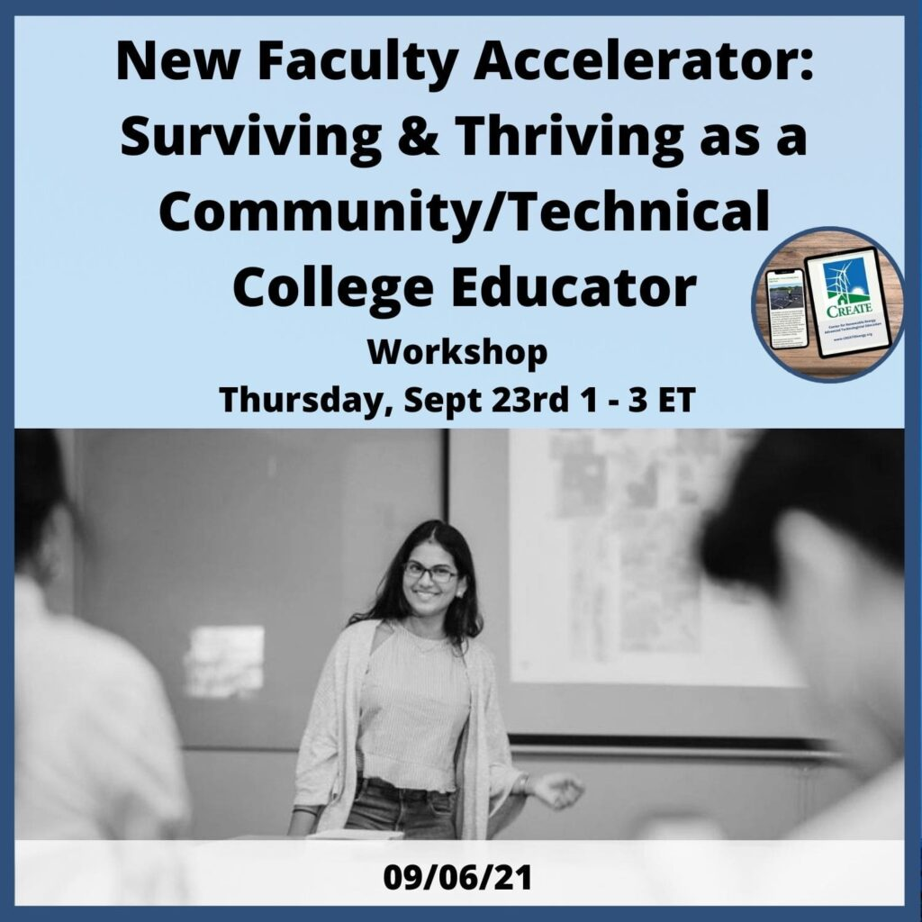 New Faculty Accelerator Workshop