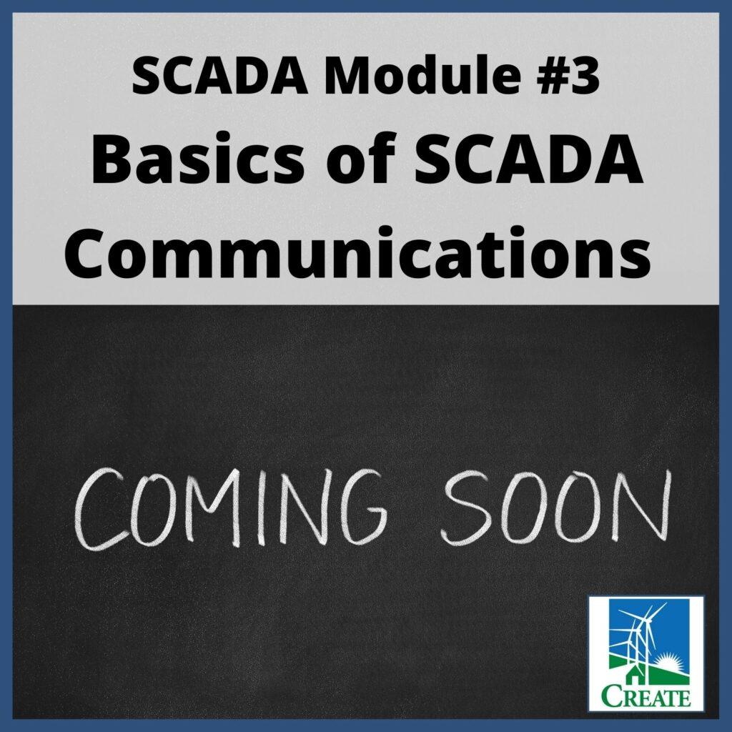 SCADA Module 3: Basics of SCADA Communications