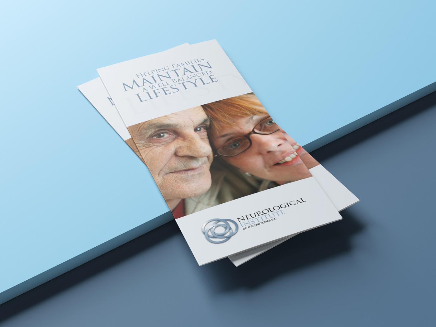 Neurological Institute Brochure Design
