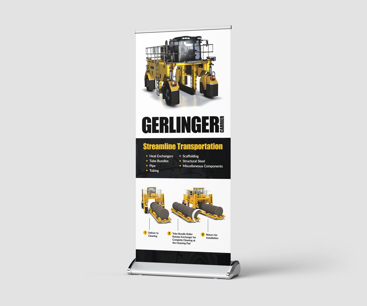 Gerlinger Carrier Trade show Display Design