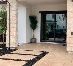 Artificial Grass Tree
