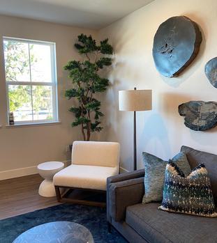 Artificial Podocarpus Tree for home deor