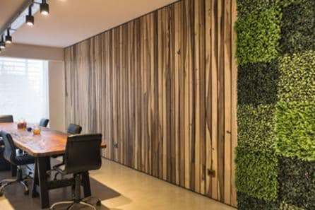 indoor artificial green wall