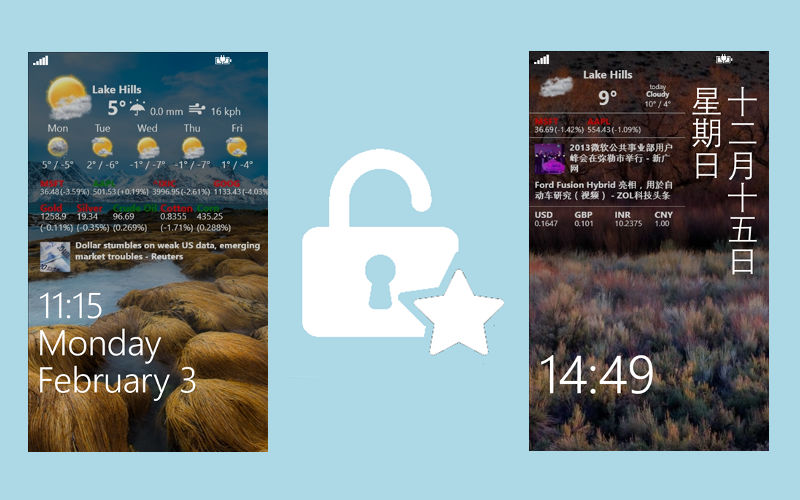 Customize Your Lock Screen With Awesome Lock, Today's myAppFree Deal