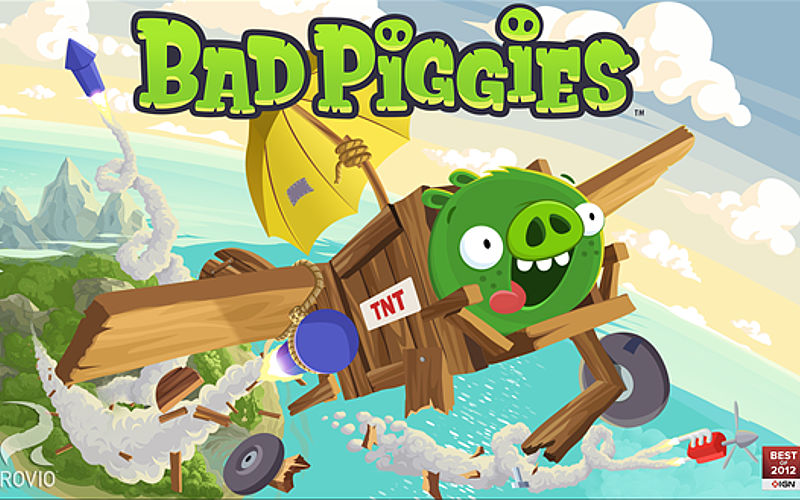 Rovio Game Bad Piggies Updated With Xbox Live Integration, Price Drop to Free
