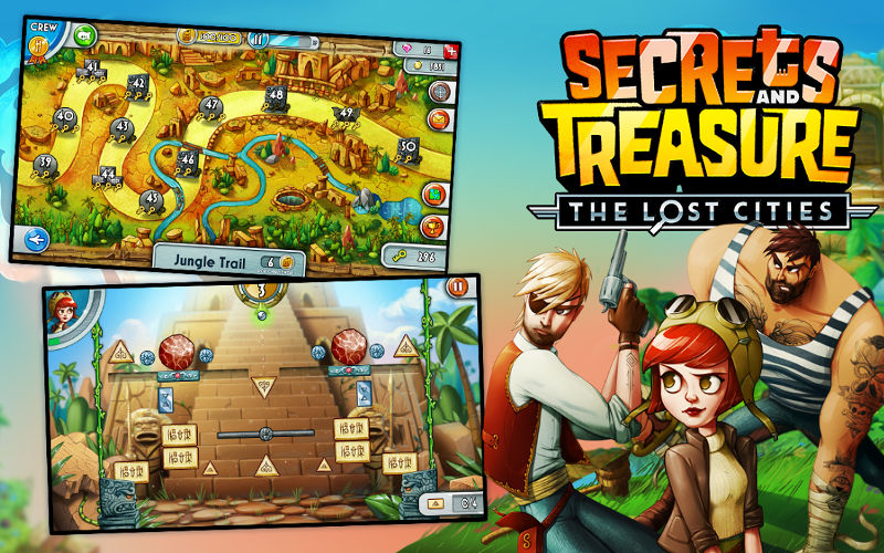 Secrets and Treasure: The Lost Cities Launches Globally on Windows Phone, Tablet, and PC