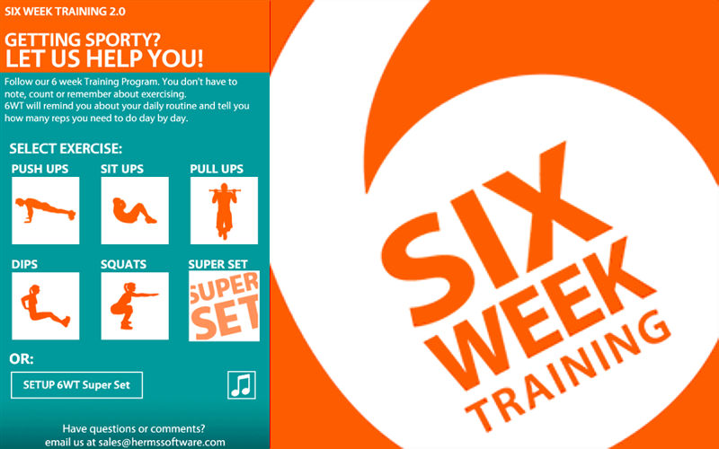 Get Yourself in Tip-Top Shape With 6 Week Training for Windows Phone