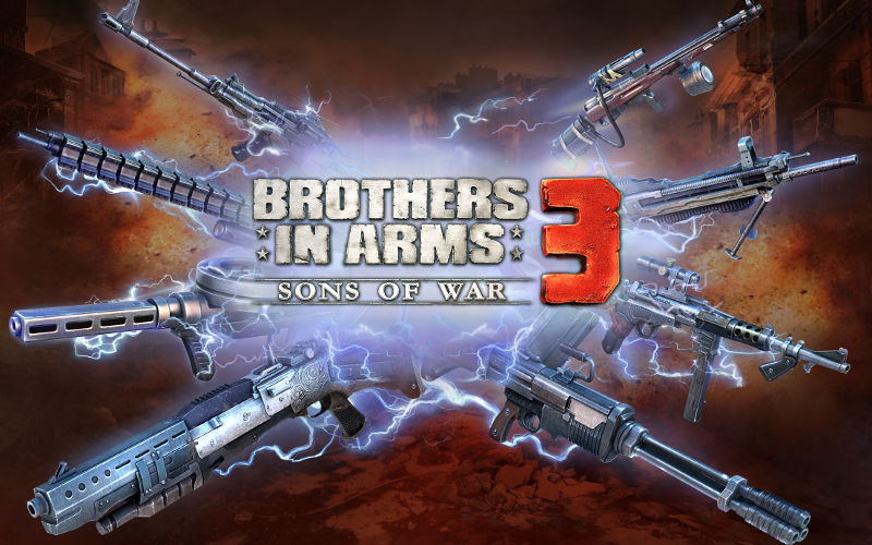 Brothers in Arms 3, BiA3, shooter