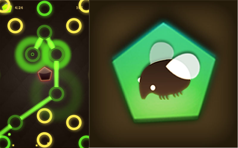 Match Neon Circles and Show Off Your Skills in Matching Game Chipfly