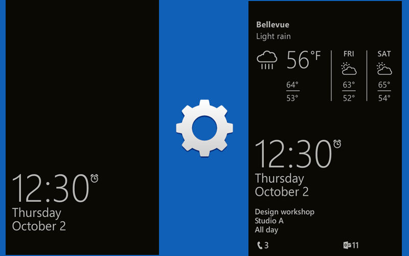 Glance Screen Gains Ability to Set Lockscreen Photo as Background
