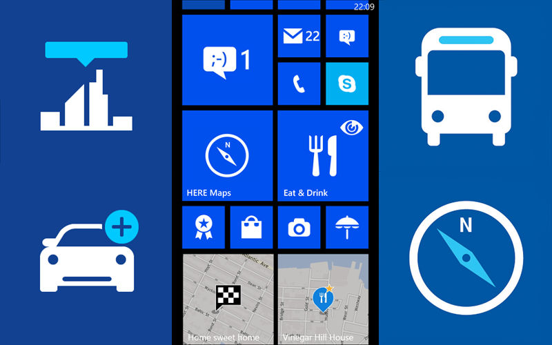 Nokia Account No Longer Required With HERE, Free Drive+, Transit for WP8 Users