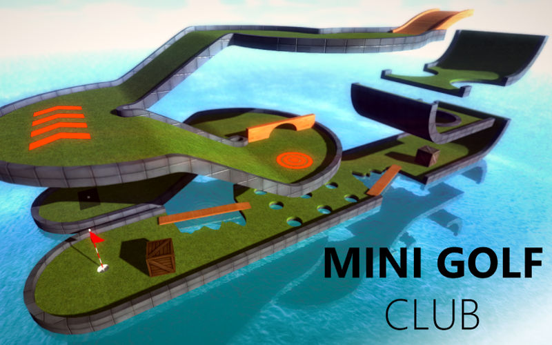 Hit the Courses in Beautiful Three Dimensions With Mini Golf Club for Windows