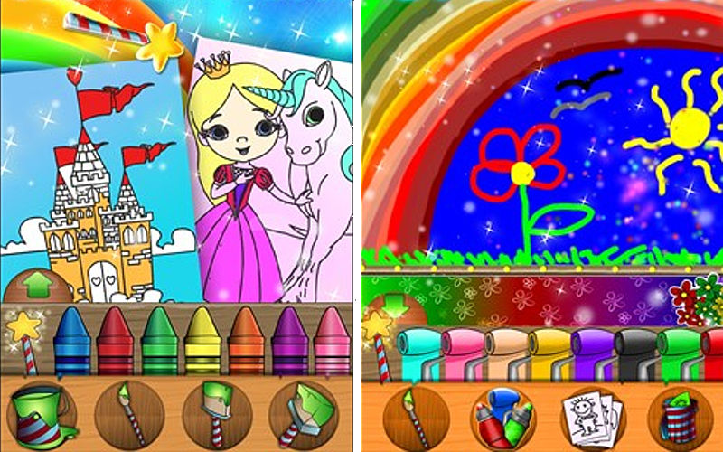 """Kid's Corner: Paint Sparkles brings out the creativity in children, free for a """"limited time"""""""