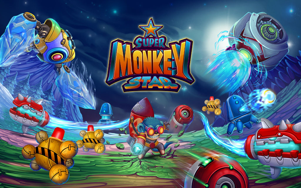 Game Troopers announces Super Monkey Star for Windows 10 Mobile