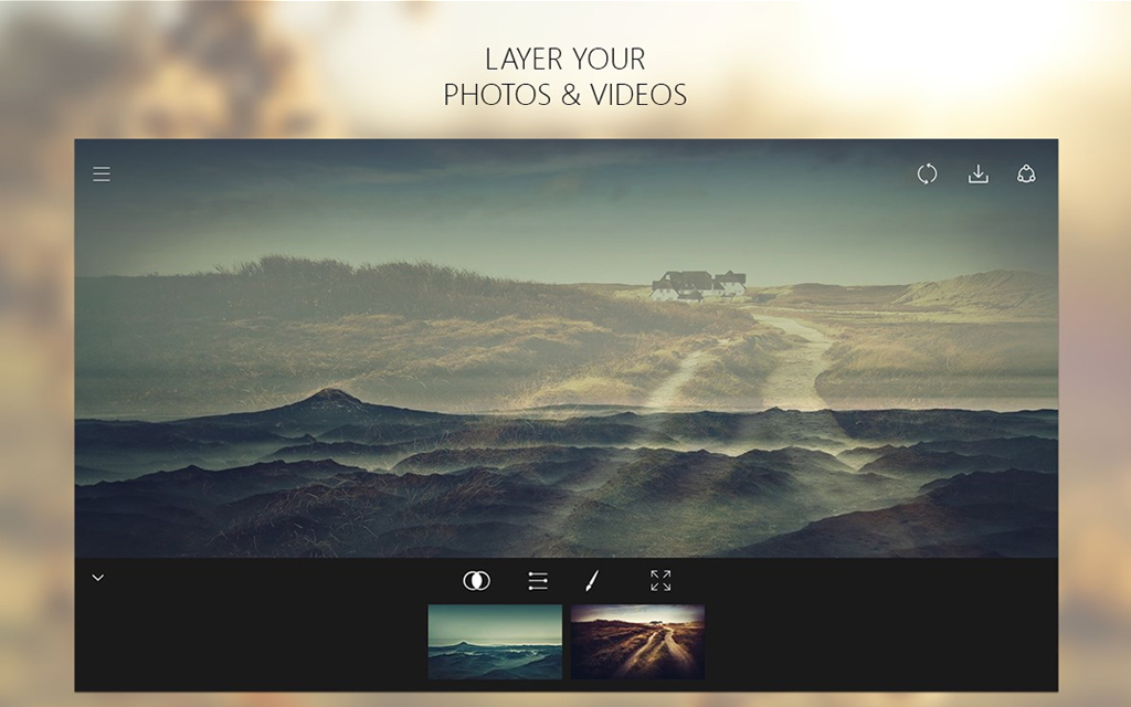 Fused : Double Exposure, Video and Photo Blender