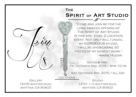 spirit of art opening