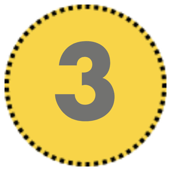 Number 3 icon