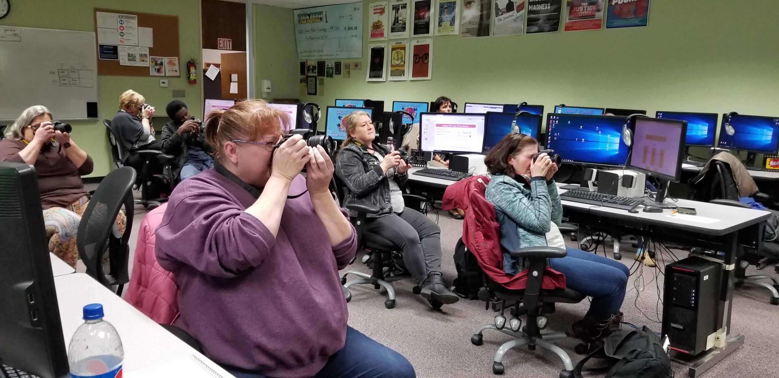photography class great plains tech center