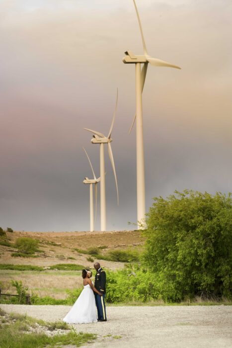 swok windmills engagement photos