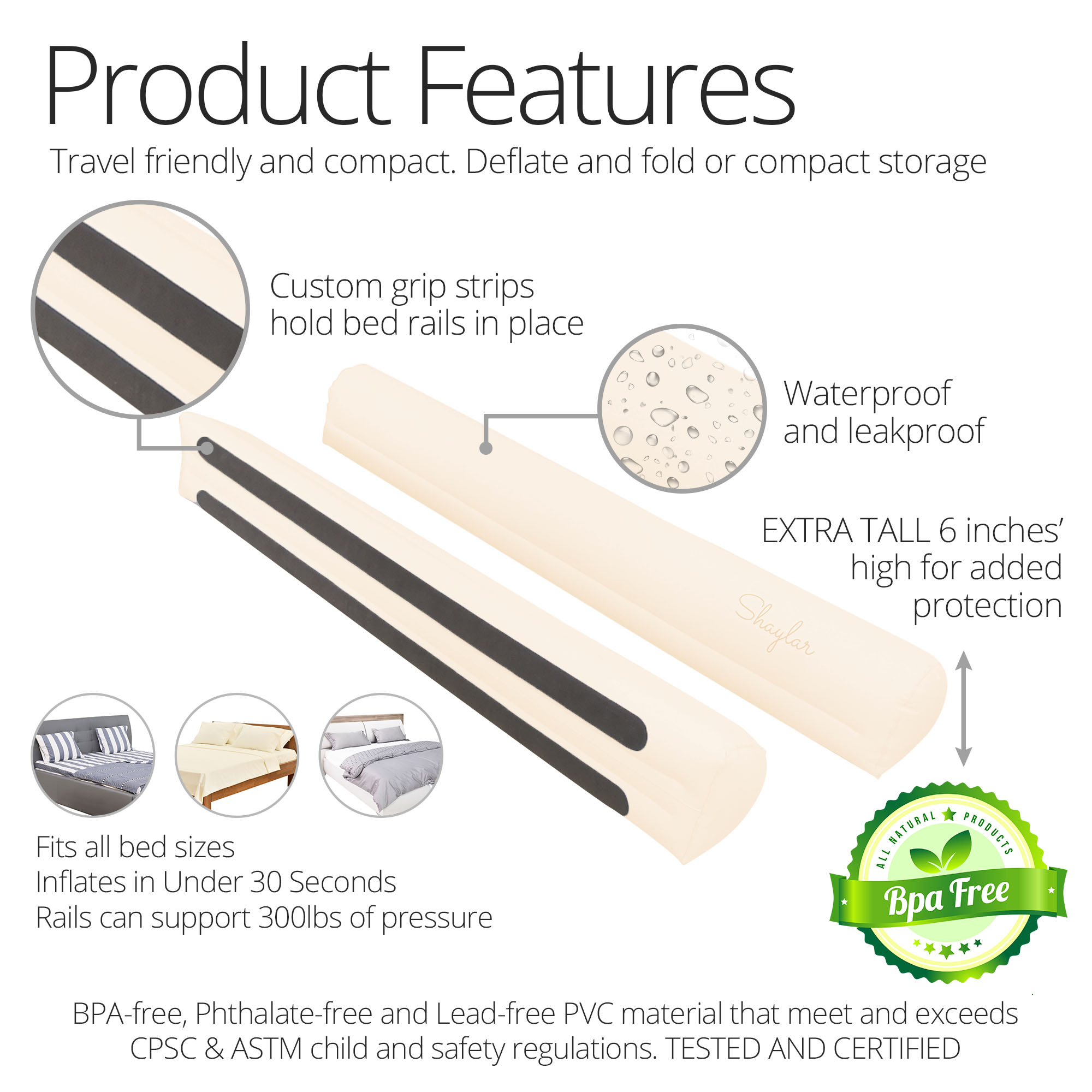 Inflatable Bed Rail – image03 – 2